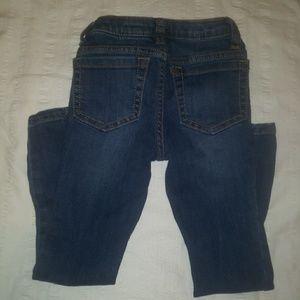 Lands' End Skinny Jeans- little girls size 4